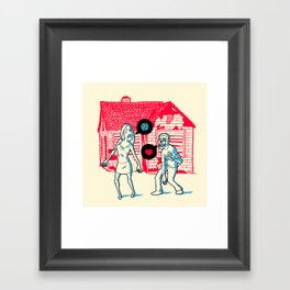 Same old story Framed Art Print