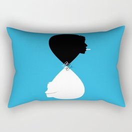 """Okay?"" ""okay"" The fault in our stars Rectangular Pillow"