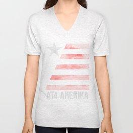 AT4 AMERIKA Unisex V-Neck