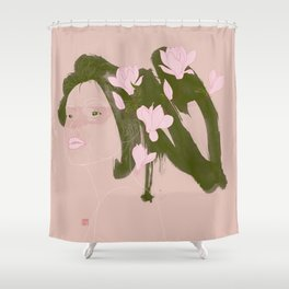 Magnolia (Mulan) Shower Curtain