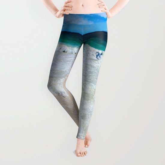Tulum Waves Leggings