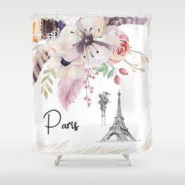 Flowers bouquet #30 Shower Curtain
