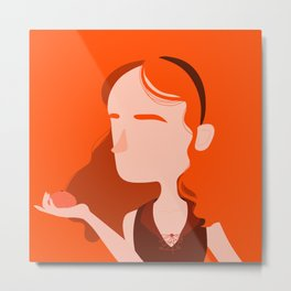 "Color Girl Series: ""Clementine"" Metal Print"