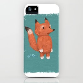 Animal Series: Little Fox iPhone Case