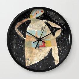 Mexican Rain Wall Clock