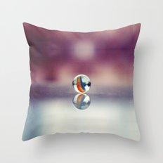 Taw marble Throw Pillow