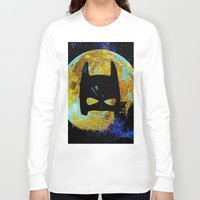 bat Long Sleeve T-shirts featuring BAT by Saundra Myles