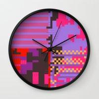 taintedcanvas54 Wall Clock