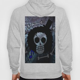 Pirate flag with Dark Forest 2 Hoody