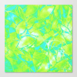 Grunge Art Floral Abstract G170 Canvas Print