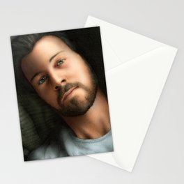 Dan Feuerriegel (Color Version) Stationery Cards