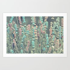 Summer dreams. Art Print