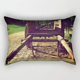 Country Wheels Rectangular Pillow