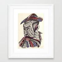 samurai Framed Art Prints featuring Samurai  by Geek World