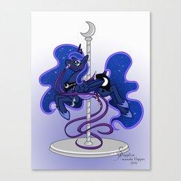 Luna Carousel Canvas Print