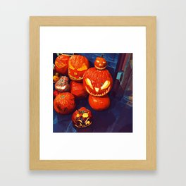 Happy Halloween to everyone Framed Art Print