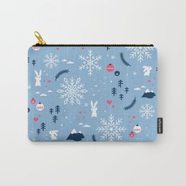 Merry X'mas Carry-All Pouch