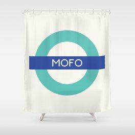 Mofo   TFL Shower Curtain