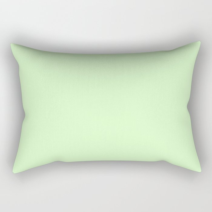 Simply Green Tea Green Rectangular Pillow