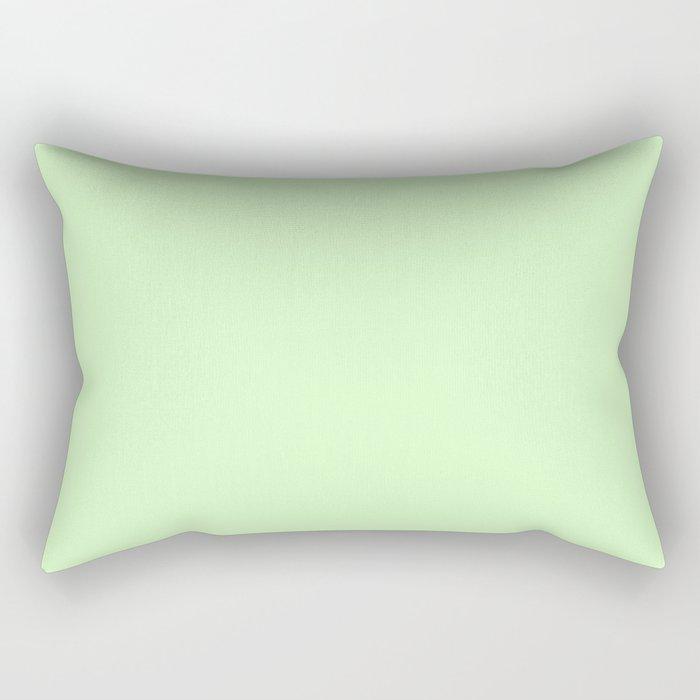 Simply Green Tea Green Rectangular Pillow