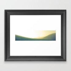 Rolling Greens Framed Art Print