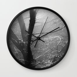 spinning minds Wall Clock