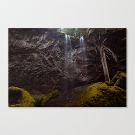 Grotto Falls Canvas Print