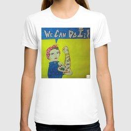 Modern Rosie the Riveter T-shirt