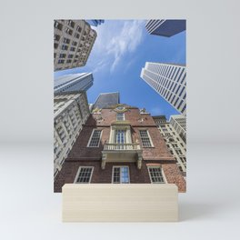 BOSTON Old State House Mini Art Print