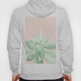 Green Blush Cactus #1 #plant #decor #art #society6 Hoody