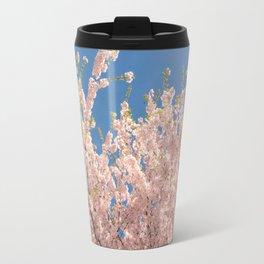 Cherry Blossom Wave Travel Mug