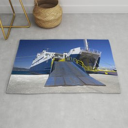 Ionian ferry Ramp Rug