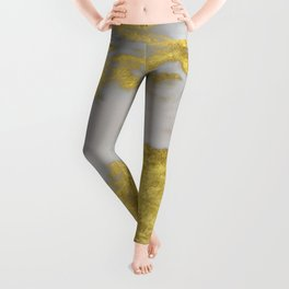 Agria gold marble Leggings