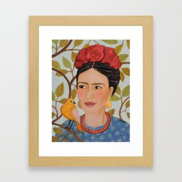 viva Frida Framed Art Print