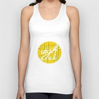 clueless Tank Tops featuring Ugh, As If by NoelleGobbi