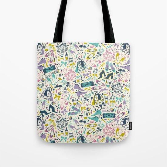 Heels and Handbags (sweet) Tote Bag
