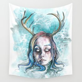 Strangely Christmasy Wall Tapestry