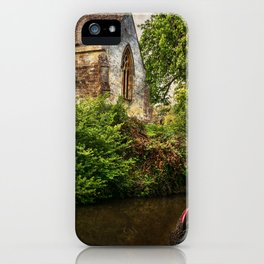 Church By The Oxford Canal iPhone Case
