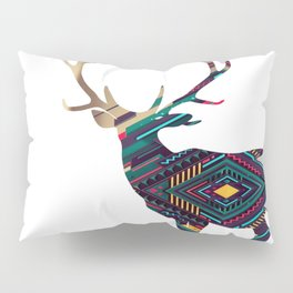 Deer abstract Pillow Sham