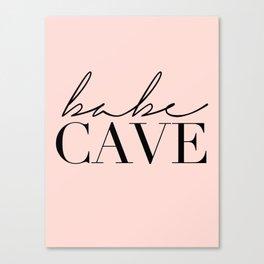 babe cave Canvas Print