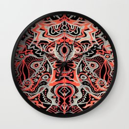 Courage of the Tigress Wall Clock