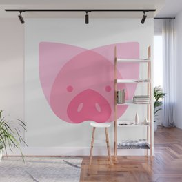 Piggy Wall Mural