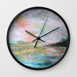 Tourmaline Wall Clock