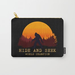 Bigfoot - Hide and Seek World Champion Carry-All Pouch