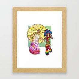 dance magic dance Framed Art Print