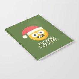 White Knuckle Christmas Notebook