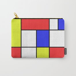 Mondrian #23 Carry-All Pouch