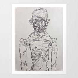 Slimming Down Art Print