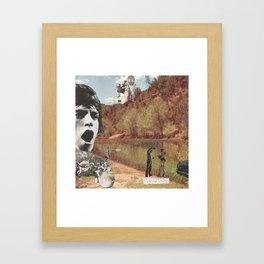 Cool Cop Framed Art Print
