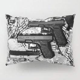 Steel n Ammo Pillow Sham